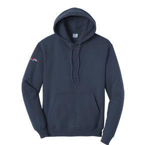 Port Authority Port & Company Tall Core Fleece Pullover Hooded Sweatshirt (Navy)