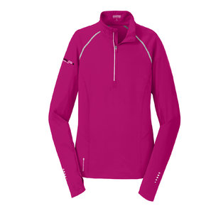Ogio OGIO ENDURANCE Ladies Nexus 1/4-Zip Pullover (Flush Pink)