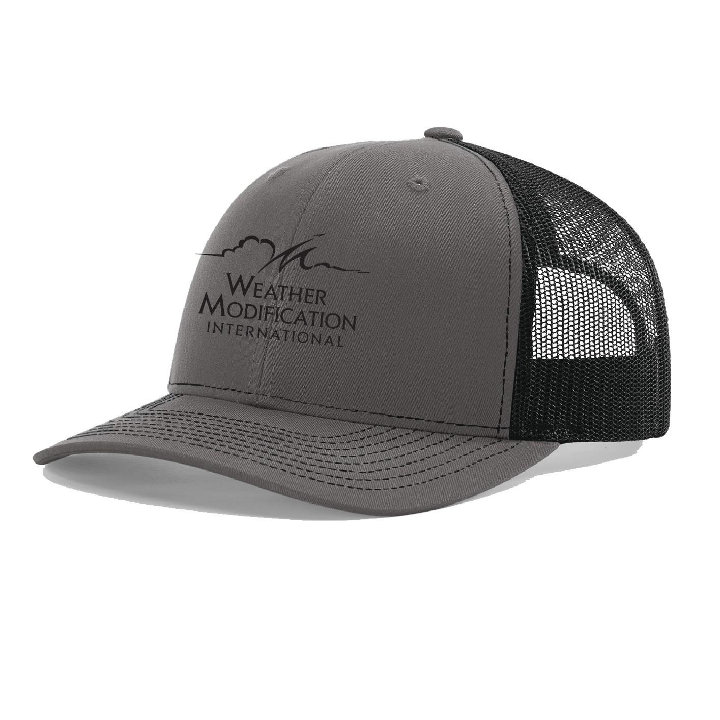 Richardson Richardson 112  Trucker Cap (Charcoal/Black)
