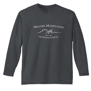 District Made District  Perfect Weight  Long Sleeve Tee (Charcoal)