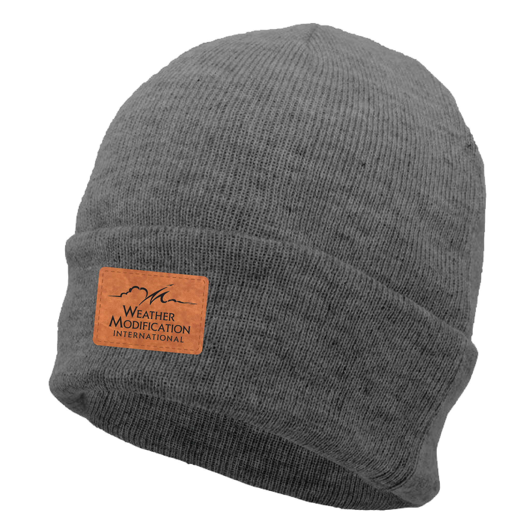 Pacific Headwear Premium Cuff Beanie (Dark Heather)