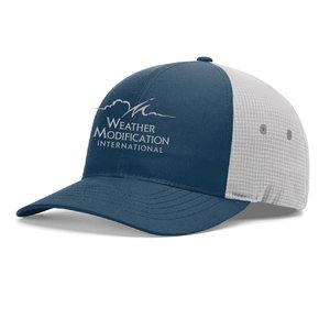 Richardson Richardson Bandon  Outdoor Performance Fitted Cap (Light Navy/Glacier Grey)