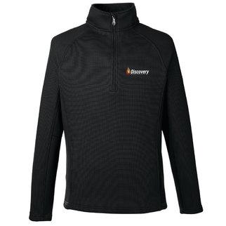 Spyder Men's Constant Half-Zip Sweater (Polar/Black)