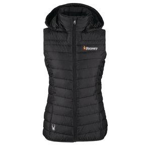 Spyder Ladies Supreme Puffer Vest (Black)