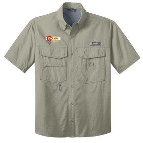 Eddie Bauer Eddie Bauer® - Short Sleeve Fishing Shirt ( Driftwood)