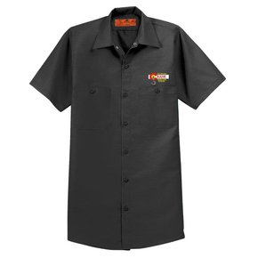 Red Cap Red Kap® - Short Sleeve Work Shirt (Charcoal)