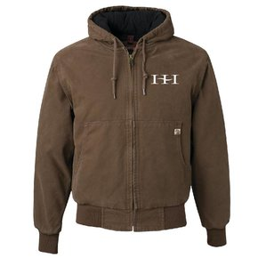 Dri Duck DRI DUCK - Cheyenne Hooded Boulder Cloth™ Jacket (Khaki)