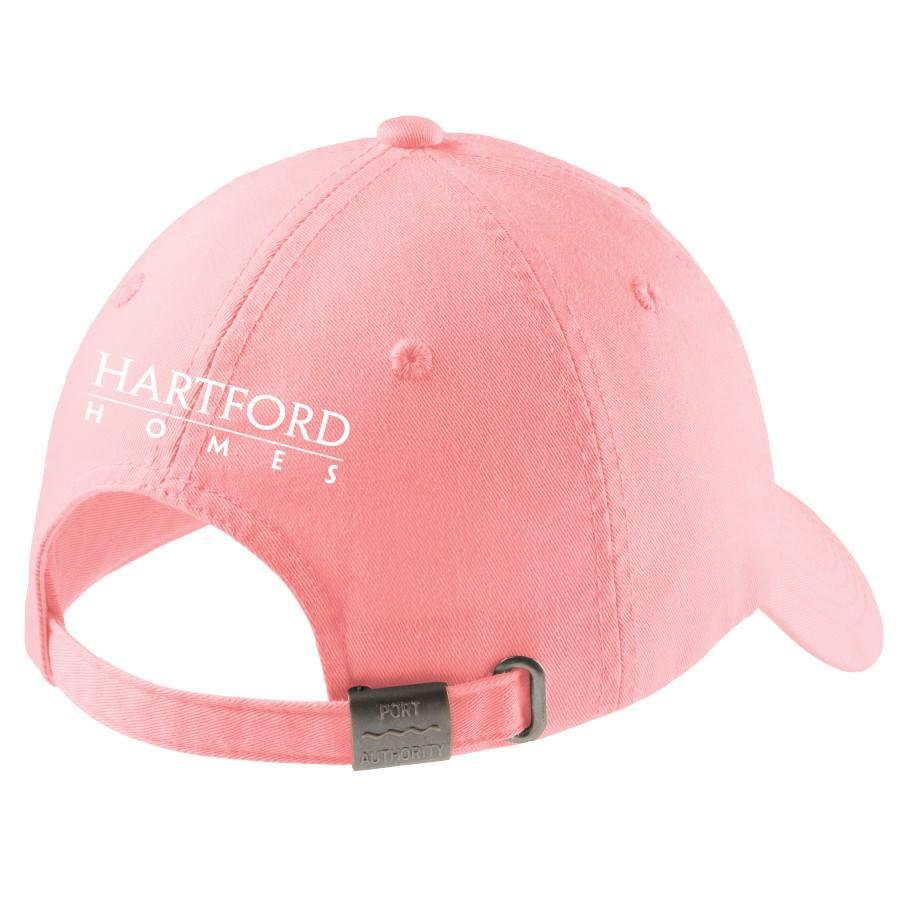 Port Authority Port Authority® Ladies Garment-Washed Cap (Light Pink)