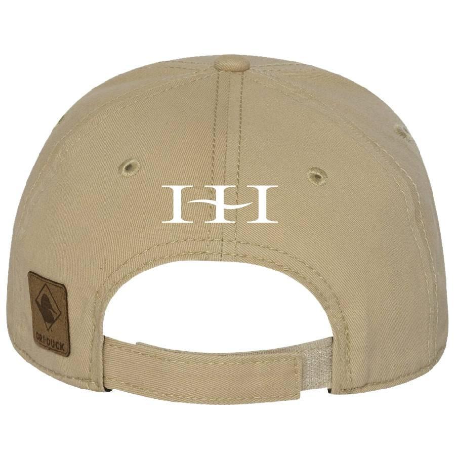 Dri Duck DRI DUCK - Heritage Brushed Twill Cap (Khaki)
