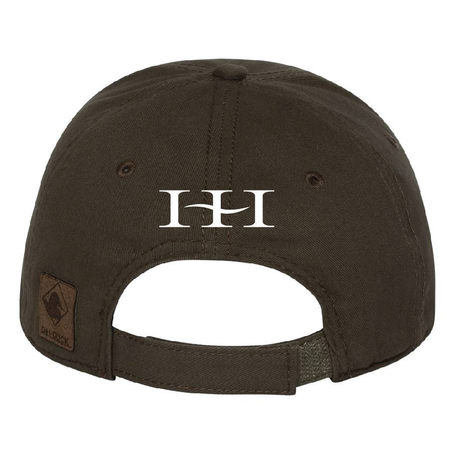 Dri Duck DRI DUCK - Heritage Brushed Twill Cap ( Dark Brown )