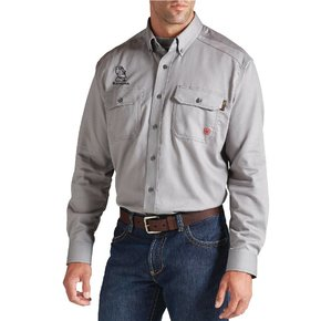 Ariat Ariat Fr Solid Work Shirt ( Silver Fox)