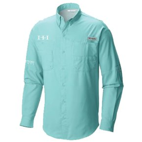 Columbia Columbia Men's  - Bahama™ II Long Sleeve Shirt (Gulf Stream)