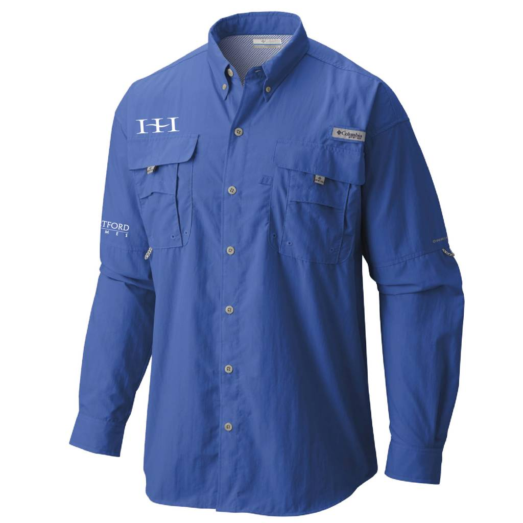 Columbia Columbia Men's - Bahama™ II Long Sleeve Shirt (Vivid Blue)