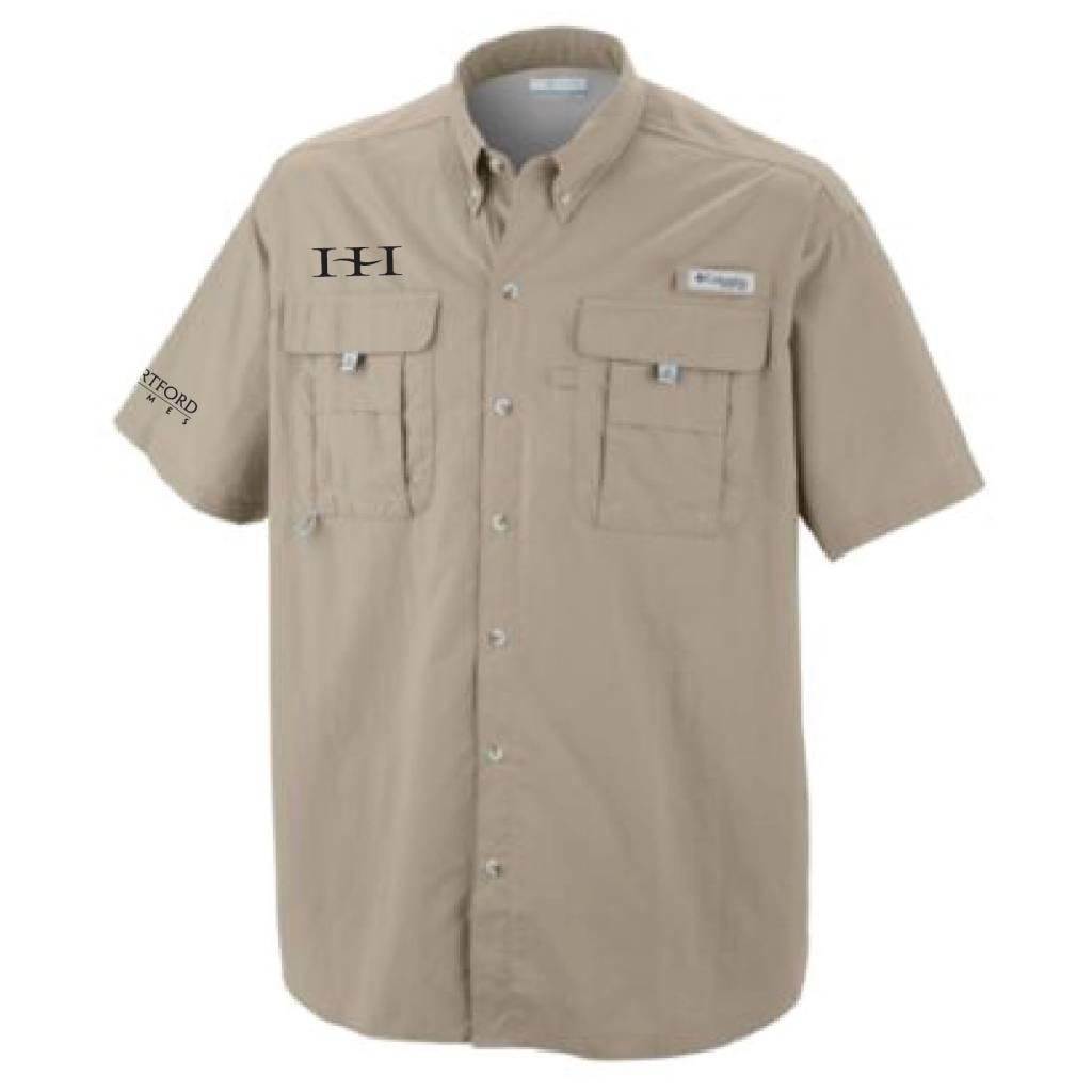 Columbia Columbia Men's  - Bahama™ II Short Sleeve Shirt (Fossil)