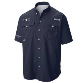 Columbia Columbia Men's  - Bahama™ II Short Sleeve Shirt (Collegate Navy)