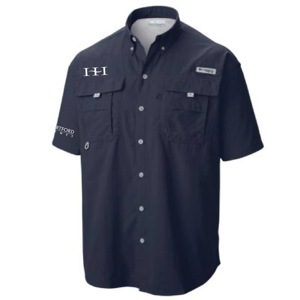 Columbia Columbia Men's  - Bahama™ II Short Sleeve Shirt (Collegate Navy)