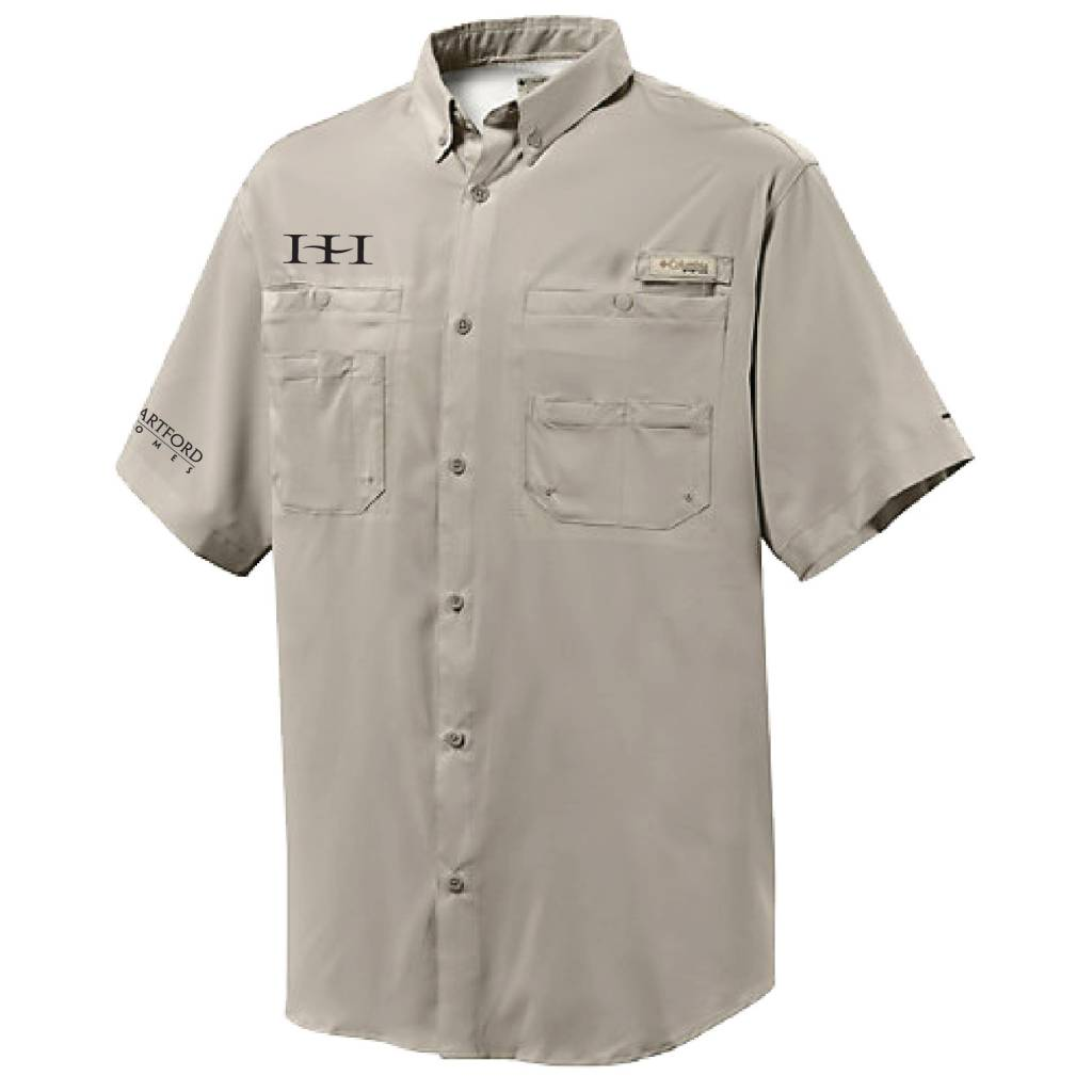 Columbia Columbia Men's  - Tamiami™ II Short-Sleeve Shirt (Fossil)