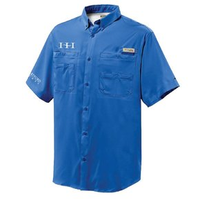Columbia Columbia Mens' - Tamiami™ II Short-Sleeve Shirt (Vivid Blue)