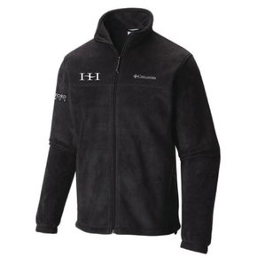 Columbia Columbia Men's Full-Zip Fleece Jacket (Black)
