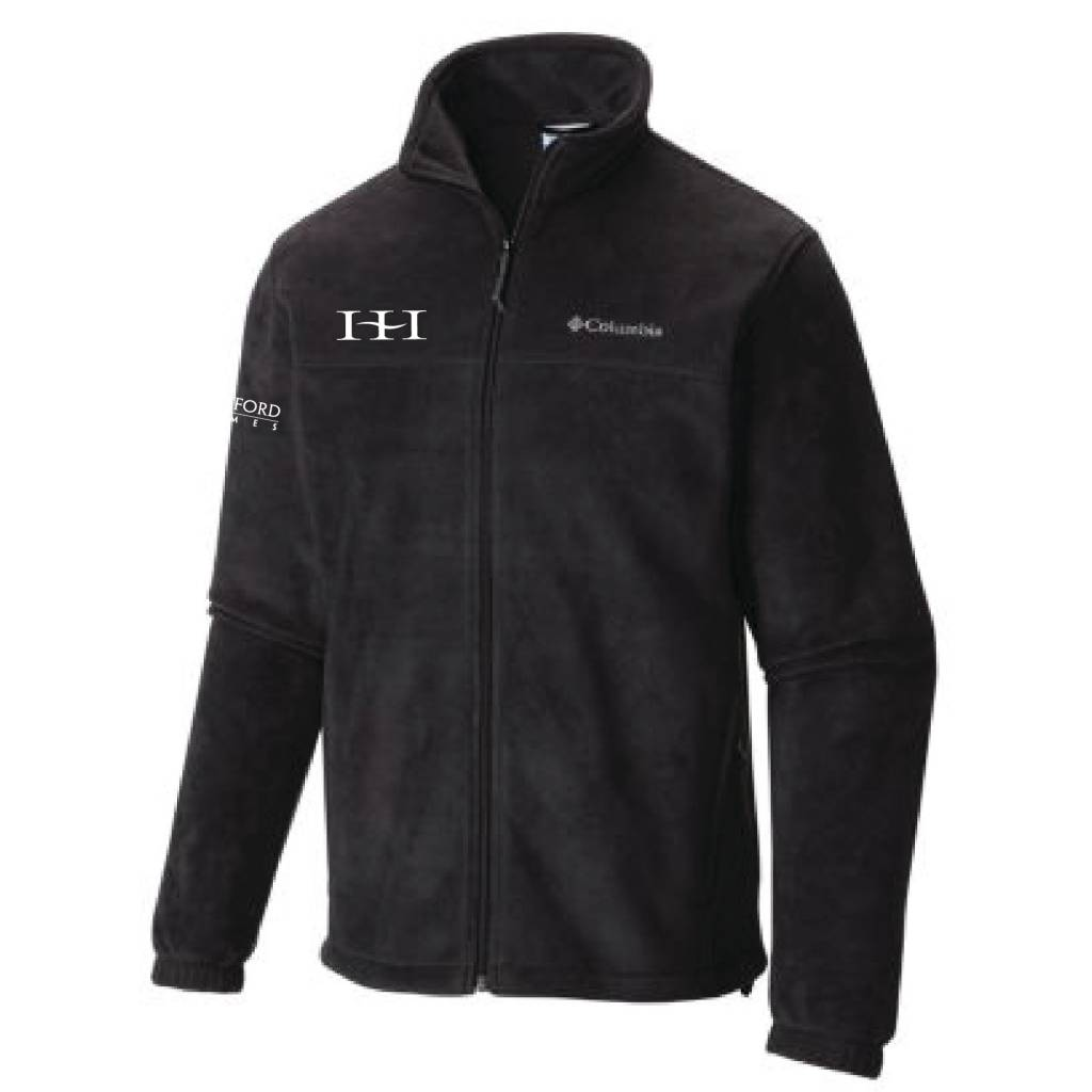 06768da044e1 Columbia Columbia Men s Full-Zip Fleece Jacket (Black) - Huston ...