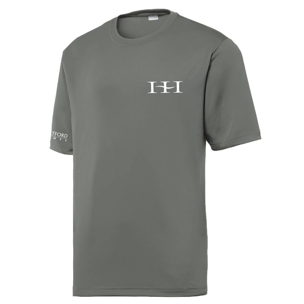 Sport Tek Sport-Tek® PosiCharge® Tough Tee™ (Dark Smoke Grey)