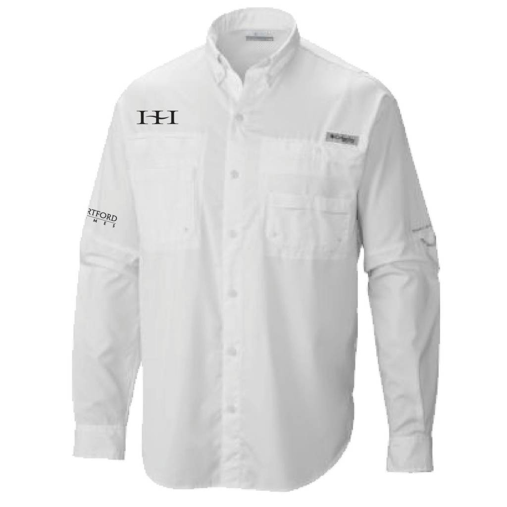 Columbia Columbia Men's  - Bahama™ II Long Sleeve Shirt (White)