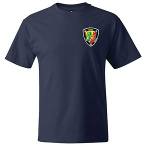 Hanes Hanes® Beefy-T® - 100% Cotton T-Shirt (Navy)
