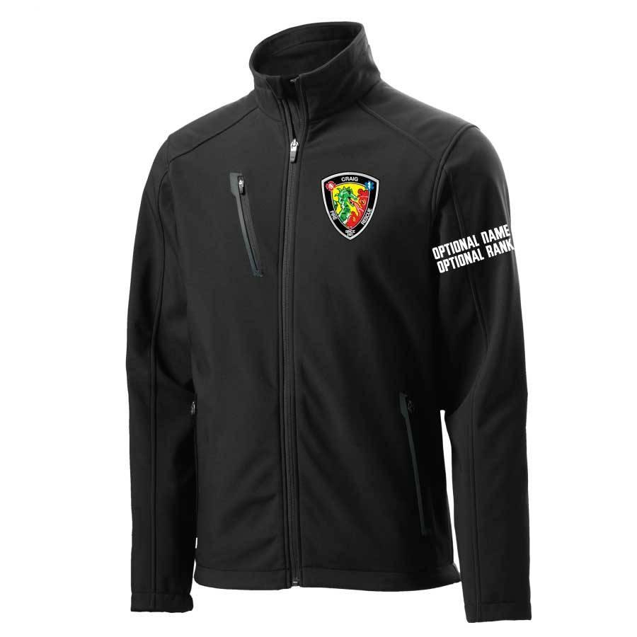 Port Authority Custom Port Authority® Welded Soft Shell Jacket (Black)