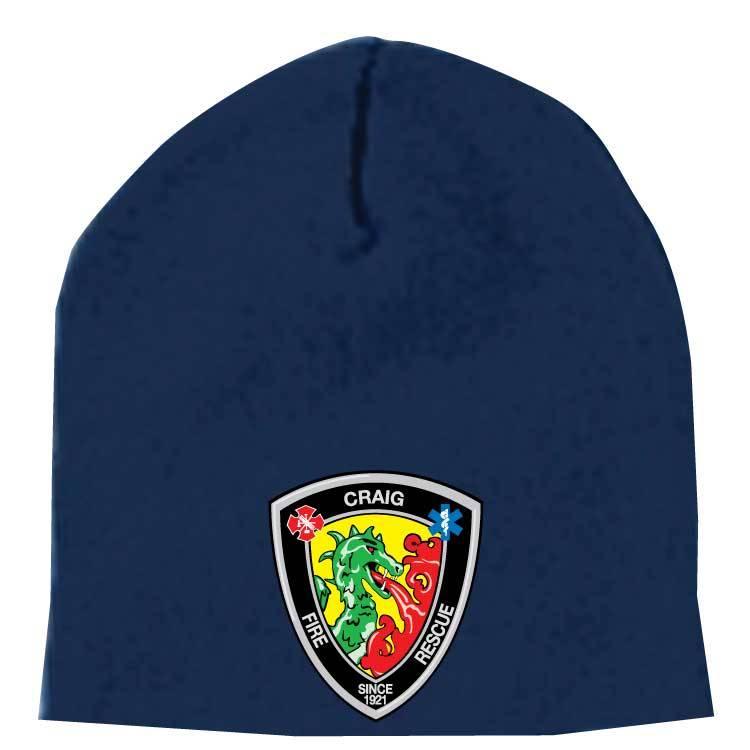 Yupoong Knit Beanie Cap  (Navy)