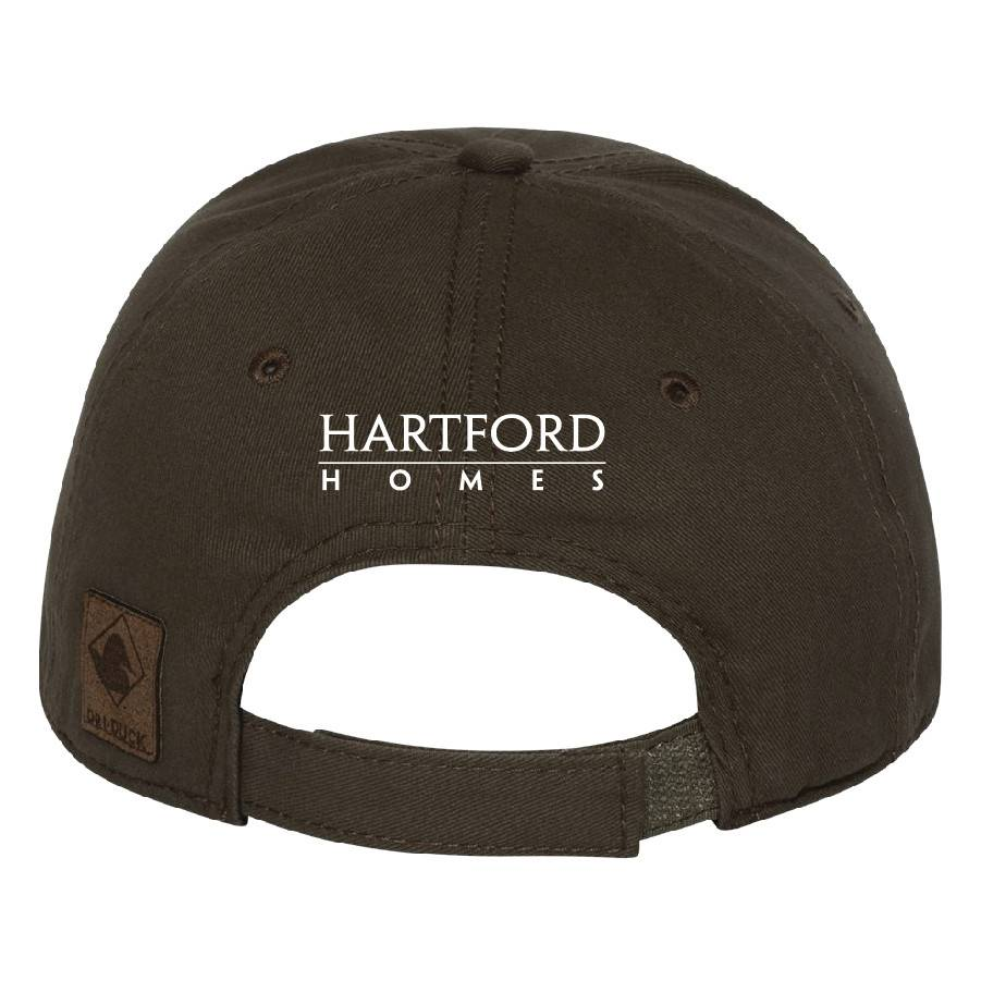 Dri Duck DRI DUCK - Heritage Brushed Twill Cap (Dark Brown)