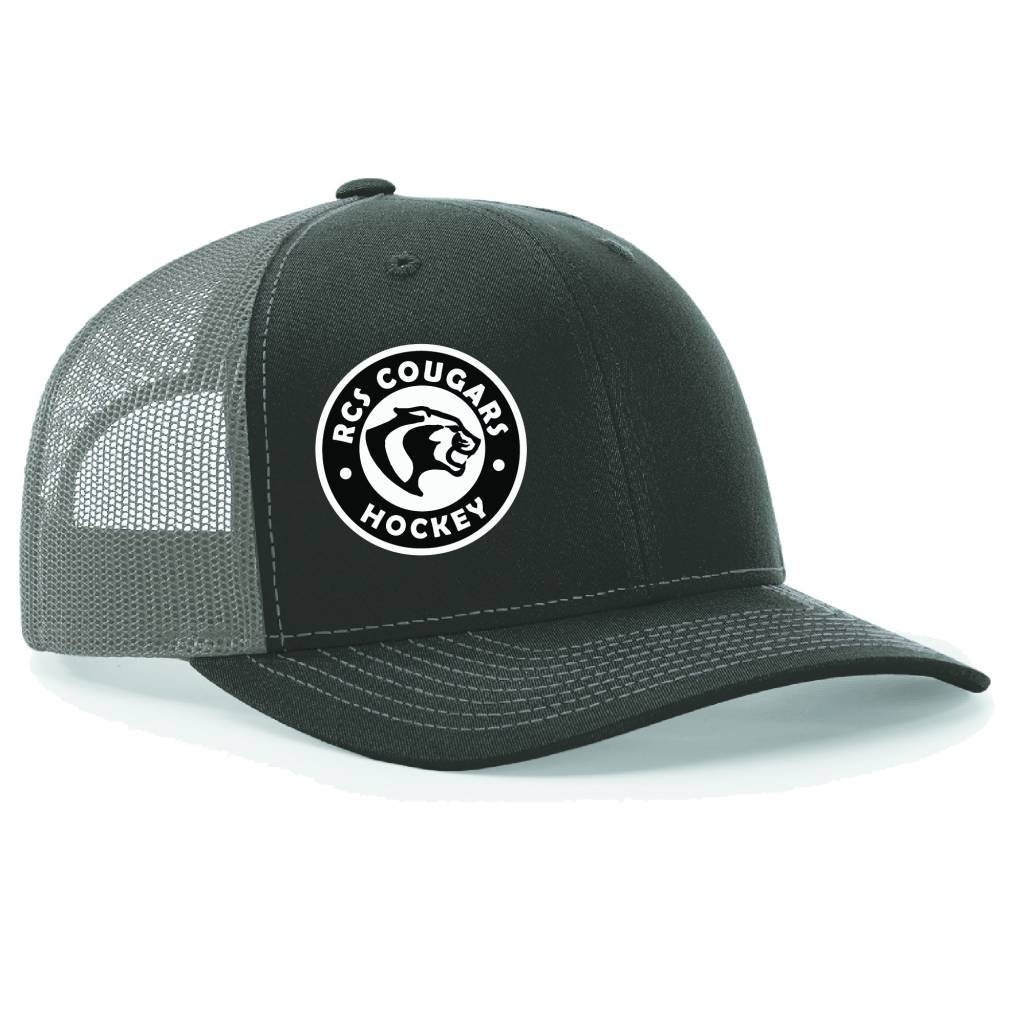 Richardson Richardson Trucker Cap ( Black/Charcoal)