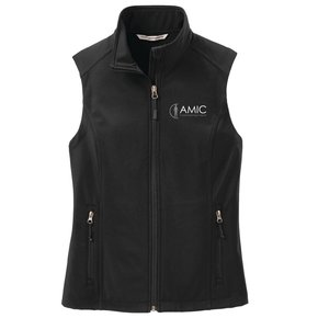 Port Authority Port Authority Ladies Soft Shell Vest (Black)