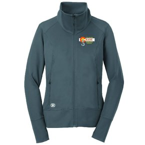 Ogio OGIO® ENDURANCE Ladies Fulcrum Full-Zip ( Gear Grey )