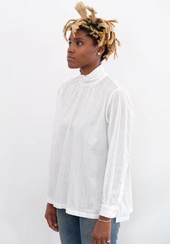 Chimala Leno Cloth High Neck Shirt