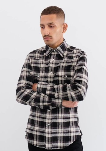 Gitman Vintage Long Sleeve Flannel Western Shirt