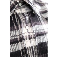 Long Sleeve Flannel Western Shirt