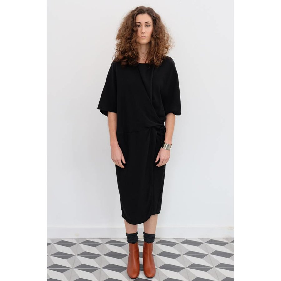 Tether Tied Tencel Dress