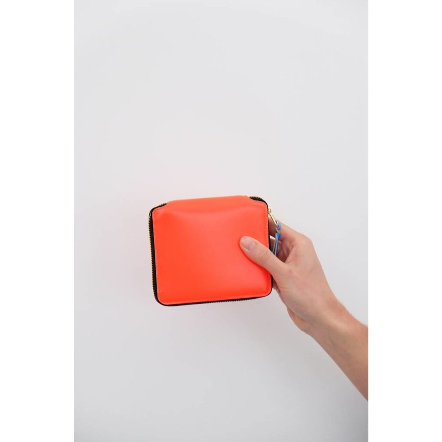 Super Fluo Zip-Around Wallet