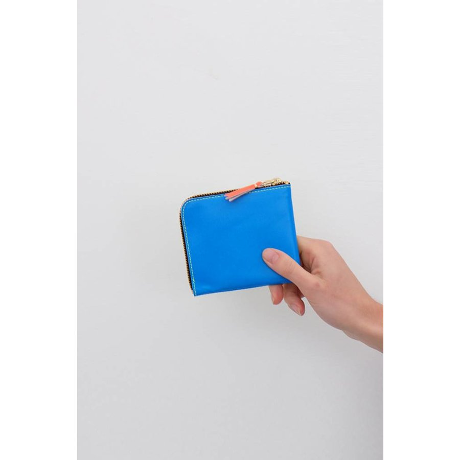 Super Fluo Corner Zip Wallet