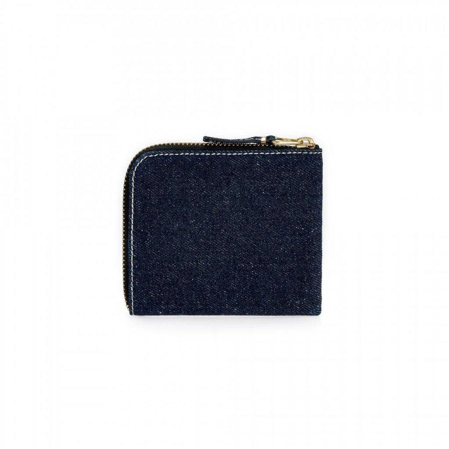 Denim Corner Zip Wallet
