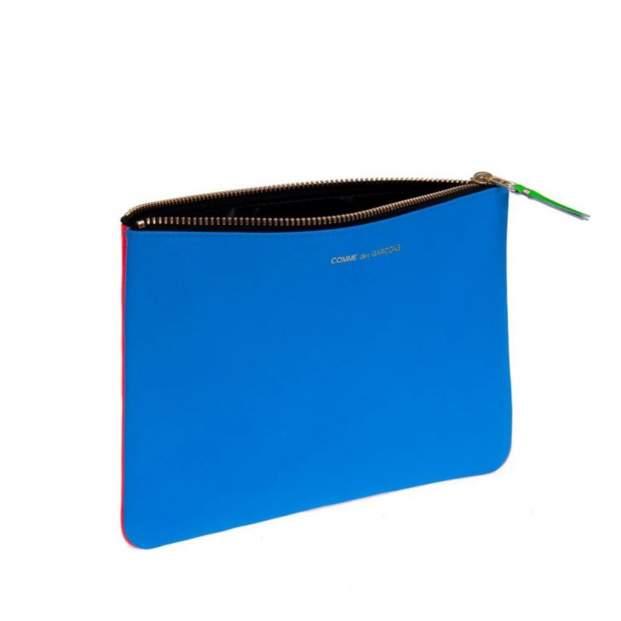 Super Fluo Large Zip Pouch