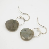 Labradorite Single Drop Earrings