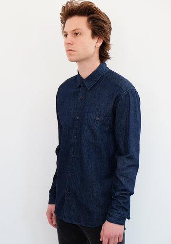 Jungmaven Ojo Indigo Dye Hemp Shirt