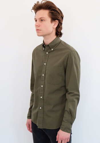 Gitman Vintage Long Sleeve Overdye Shirt