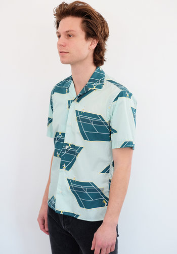 Gitman Vintage Tennis Court Camp Shirt