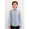 Gitman Vintage Long Sleeve Stripes Poplin Shirt