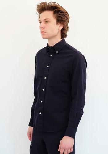 Gitman Vintage Long Sleeve Seersucker Oxford Shirt