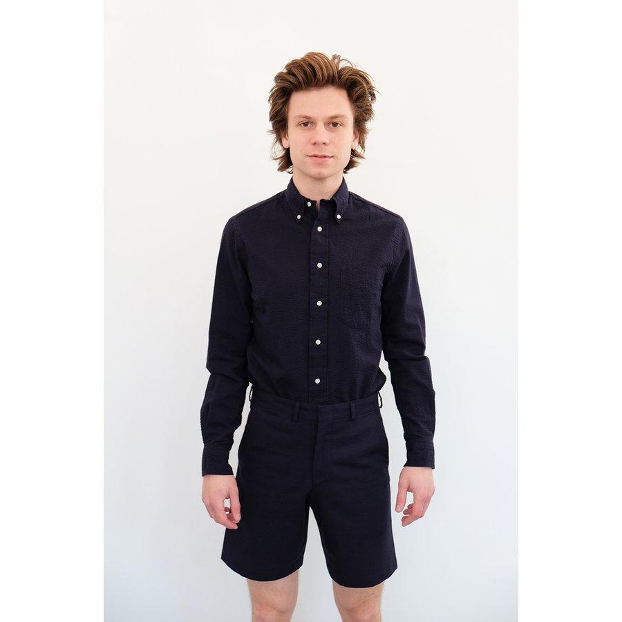 Seersucker Trouser Shorts