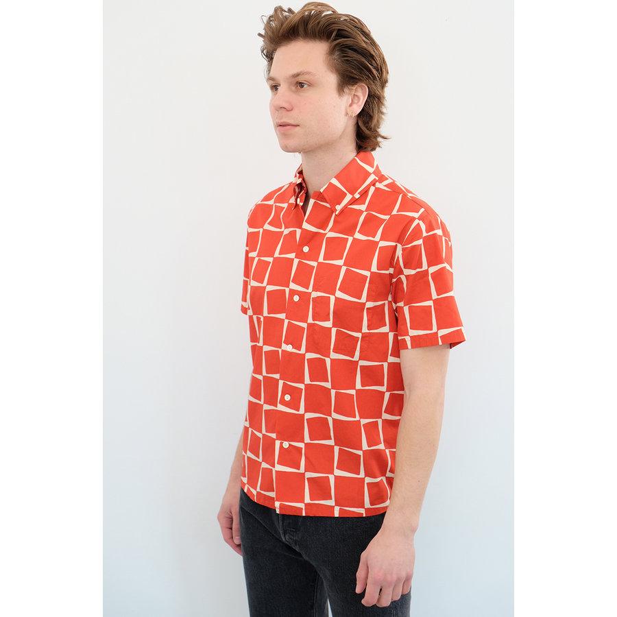Atomic Square Print Shirt