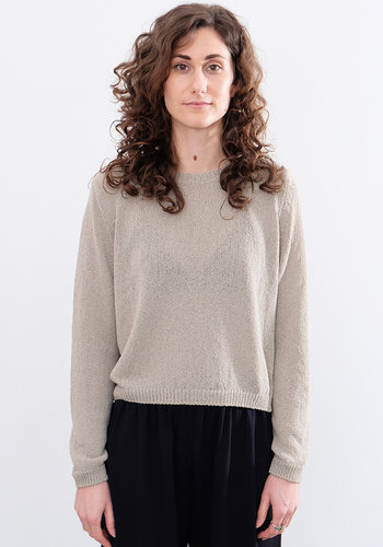 Evam Eva Cotton Coil Dry Sweater